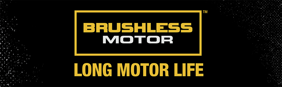 Brushless Long Motor Life