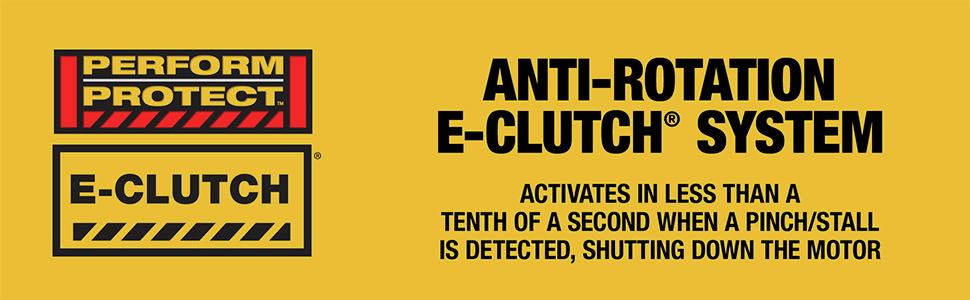 Anti-Rotation Clutch System