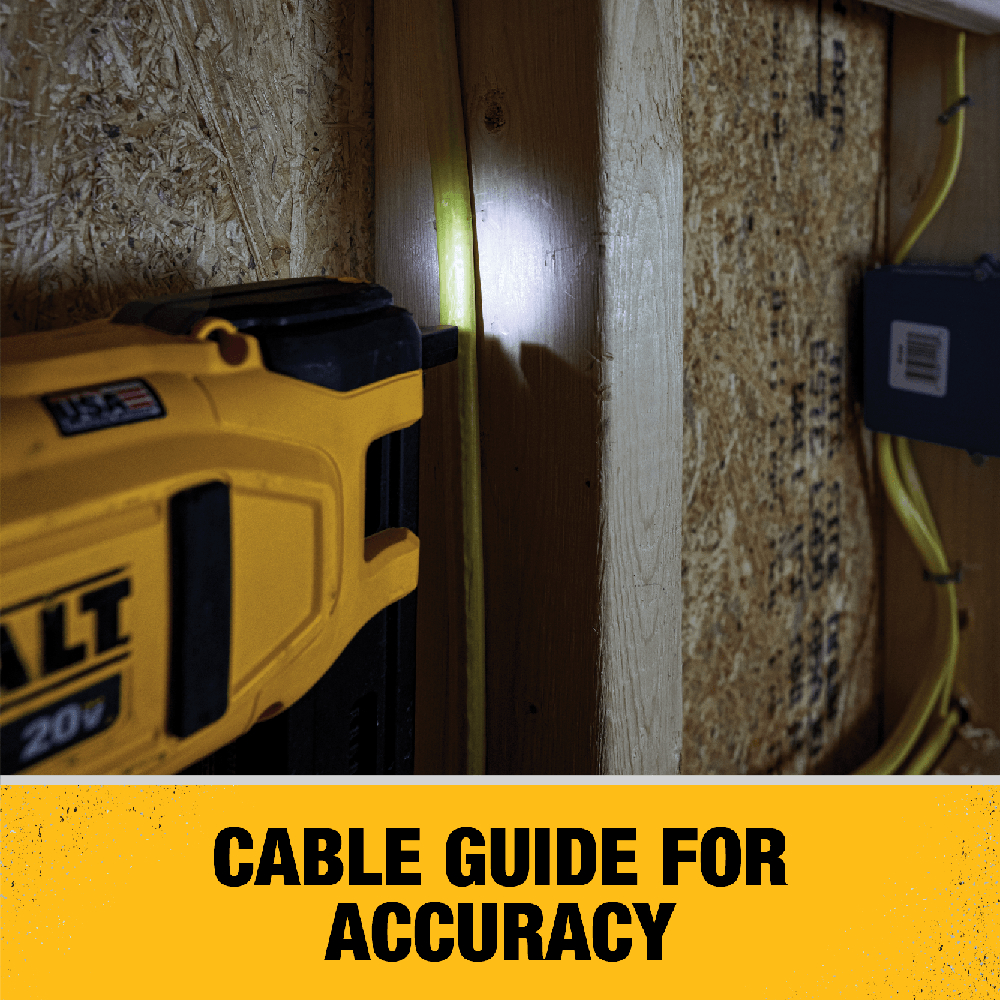 Cable Guide for Accuracy