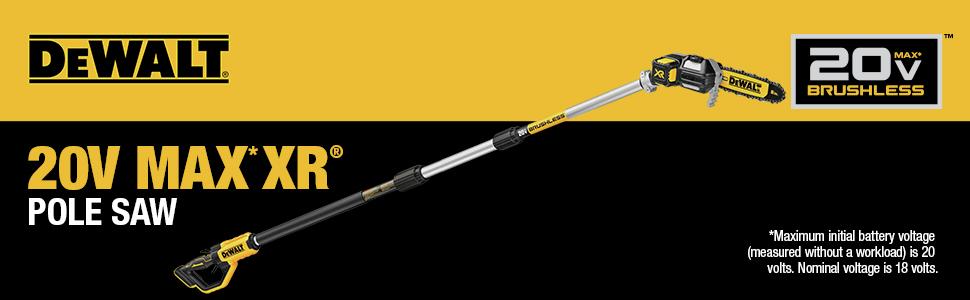 20V MAX XR Pole Saw