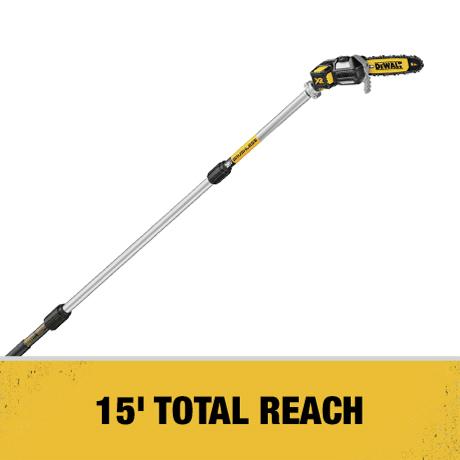 15 ft. Total Reach