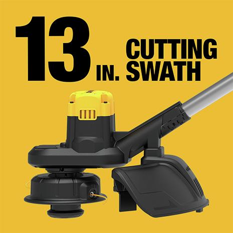 13 in Cutting Swath