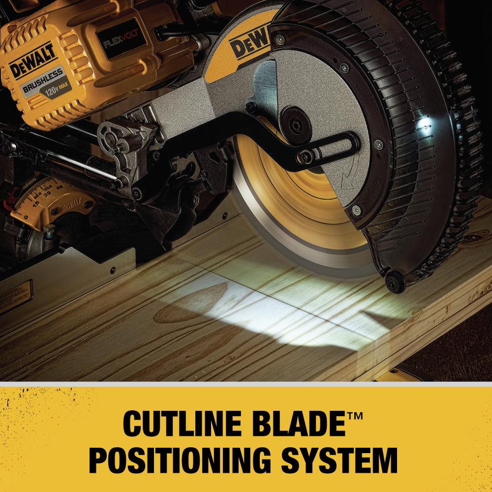 Cutline Blade Positioning System