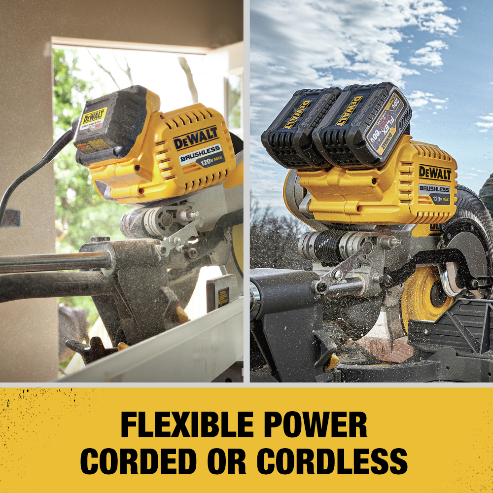 Flexible Power Corded or Cordless