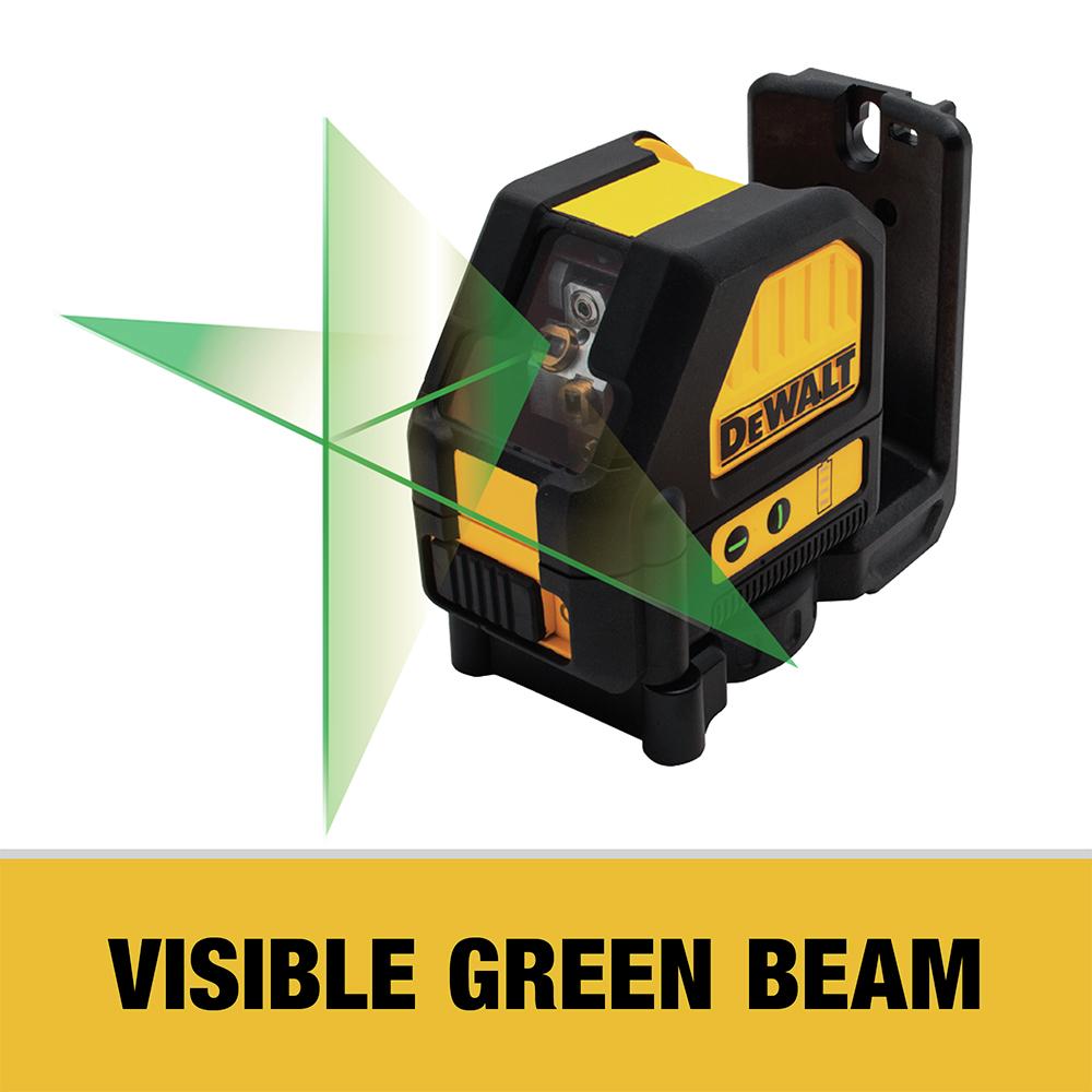 Visible Green Beam