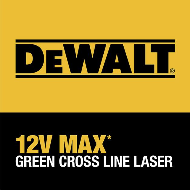 DeWalt 12V MAX Green Cross Line