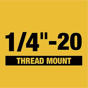 1/4 in. - 20 in. Thread Mount