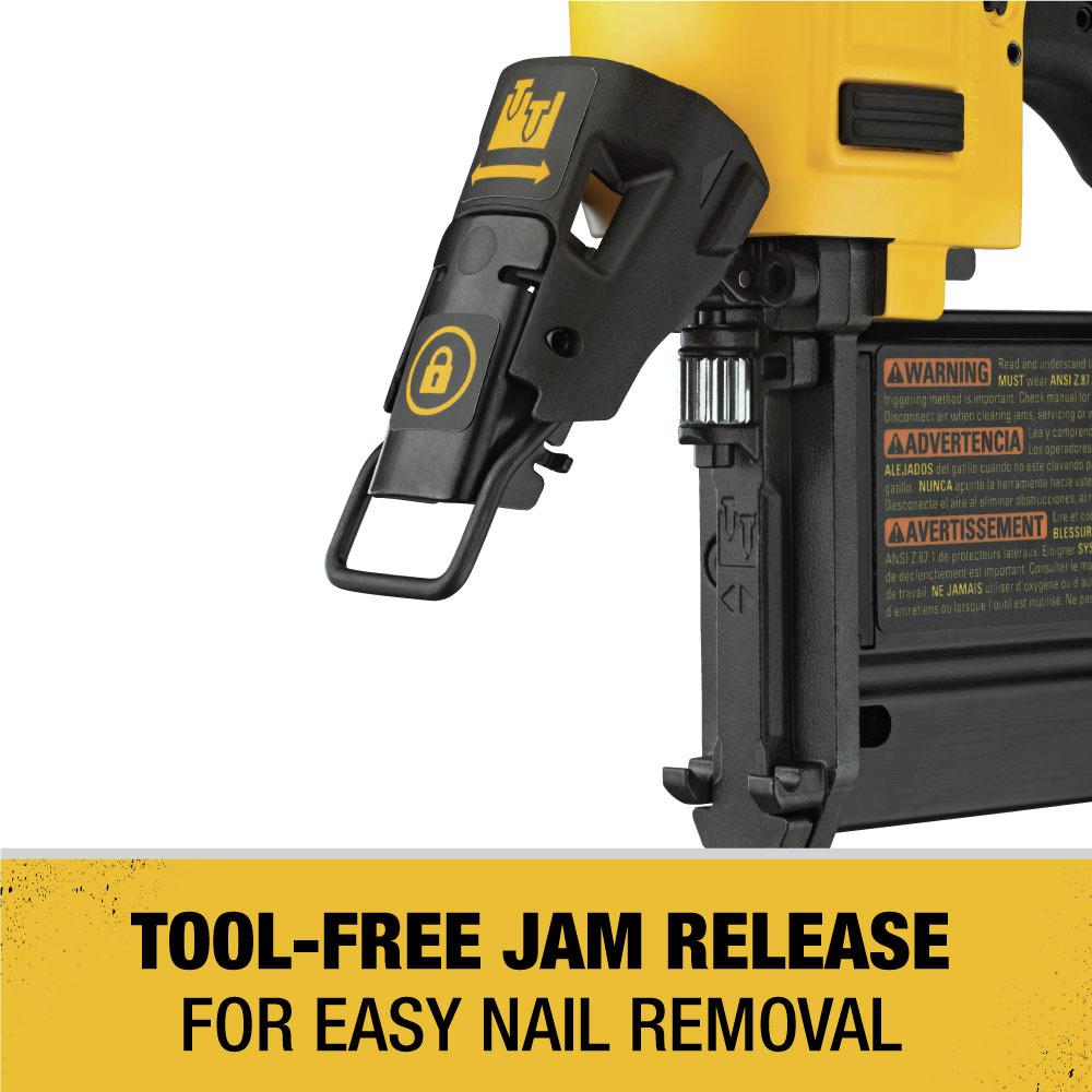 Tool-Free Jam Release