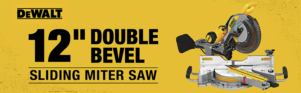 12 in. Double Bevel Sliding Miter Saw