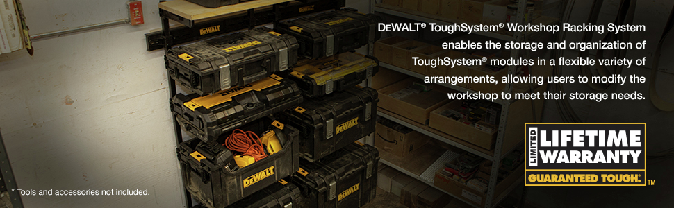 Dewalt Toughsystem Workshop Racking System