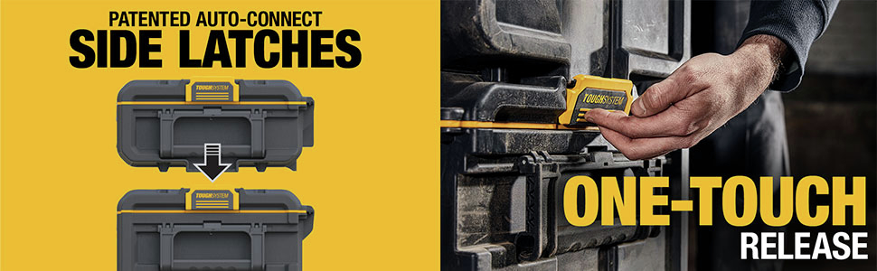 Patented Auto-Connect Side Latches