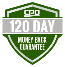 CPO 120 Day Money Back Guarantee